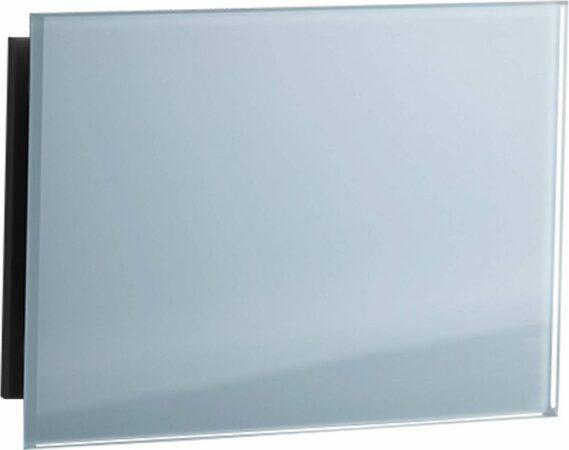 Afbeelding van Douche Concurrent Sunshower Ventilatierooster 15x9cm Glas Wit voor Deluxe Pure en Pure XL