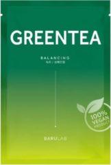 Barulab The Clean Vegan groen Tea Mask 11 g - 1 stuk
