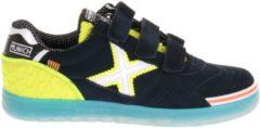 Munich G-3 Velcro Jongens Sneakers - Blauw - Maat 37
