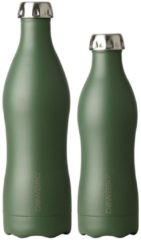 Dowabo© Thermosfles/Drinkfles - Groen - 750 ml - Earth collection
