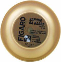 Figaro Monsieur Gold scheerzeep met Cocco en Argan Olie en oudh geur. Tcheon Fung Sing . 125ml