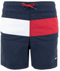 Donkerblauwe Tommy Hilfiger Zwemshorts met colour blocking