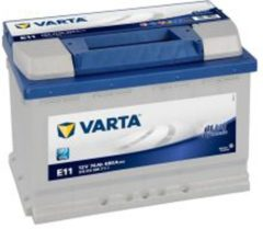Blauwe Varta Blue Dynamic E11 12V 74Ah Startaccu