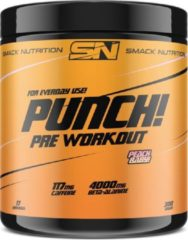 Smack Nutrition - Punch (Medium) Pre Workout / Pre-Workout / Preworkout - Peach Baby!