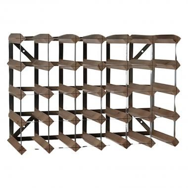 Afbeelding van Tradtitional Wine Rack Company Traditional Wine Rack Co. 30 flessen Dark Oak