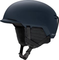 Marineblauwe Smith Scout Skihelm - Matte French Navy - Unisex - Maat 59