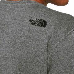 The north face drew peak crew sweater wit heren