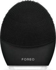 Zwarte FOREO LUNA 3 MEN Reinigingsborstel voor diepe reiniging van huid en baard