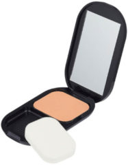 Zandkleurige Max Factor Facefinity Compact 005 Sand1 foundationmake-up