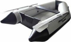Blauwe Talamex Aqualine QLA230 opblaasbare boot