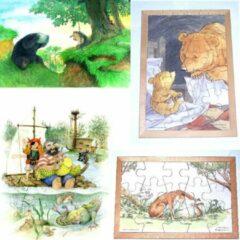 De K van Kinderen Set van 4 prentenboekenpuzzels