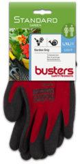 Rode Busters handschoenen Garden grip nylon/HPT rood M9