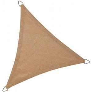 Afbeelding van Zandkleurige NC Outdoor Schaduwdoek driehoek 5,0m zand