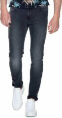 Zwarte Scotch & Soda skinny fit jeans Skim fallen hero