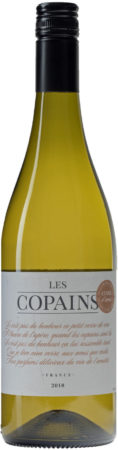 Afbeelding van Les Copains Colombard, 2019, Gascogne, Frankrijk, Witte wijn