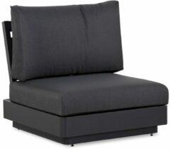 Antraciet-grijze Famous Furniture Taranto 1-zits