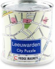 Craenen/Extragoods City Puzzle Leeuwarden - Puzzel - Magnetisch - 100 puzzelstukjes