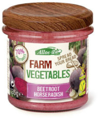 Allos Farm vegetables rode biet & mierikswortel 135 Gram