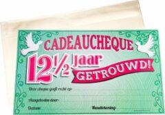 Paper dreams Cadeaucheque 12,5 jaar getrouwd