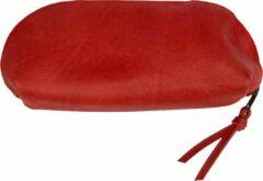 GM Z Leren make-up tas Rai Small rood
