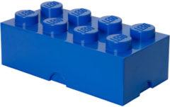 Blauwe Lego Opbergbox Brick 8 - 50 cm x 25 cm x 18 cm - Blauw
