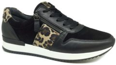 Gabor dames sneaker - Zwart - Maat 38