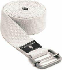 Witte Yoga riem yogibelt - 260M white Yoga riem YOGISTAR