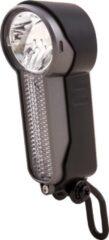 Zwarte Spanninga X&O Fiets koplamp - 25 lux
