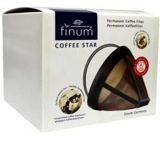Zwarte La droguerie Ecologique Coffee Star Permanent Filter Nr 4