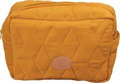 Gouden Filibabba - Toilettas - Soft quilt Golden mustard - One size