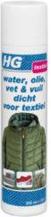 HG Water, Olie, Vet & Vuil Dicht Voor Textiel - 300 ml