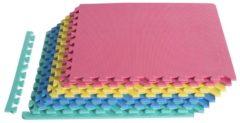 HOMCOM 16 tlg Matte Puzzlematte Spielmatte Bodenschutzmatte Turnmatte EVA Matte Spielmatte Bodenschutzmatte Bodenmatte