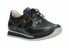 Lage Sneakers Wolky 05804 e-Walk - 20009 zwart combi suede stretch leer