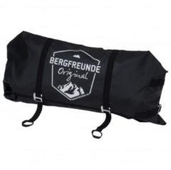 Bergfreunde.de - Zekl Rope Bag - Touwzak maat 134 x 72 cm, zwart