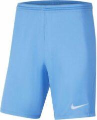 Lichtblauwe Nike Park III Sportbroek - Maat XL - Mannen - licht blauw