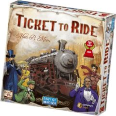 Asmodee Ticket to Ride USA - Bordspel - Engelstalige versie