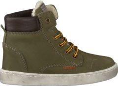 Develab Jongens Hoge sneakers 41855 - Groen - Maat 23
