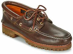 Bruine Bootschoenen Timberland 3 EYE CLASSIC LUG