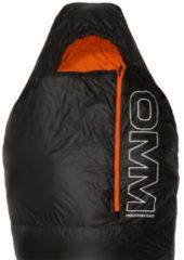 OMM - Mountain Raid 100 - Synthetische slaapzak maat 195 cm, zwart/oranje