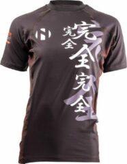 Nihon Thermoshirt Rashguard Kanzen Heren Zwart Maat M