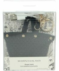 Zwarte Sleutelhanger Marina Galanti 58-003-4