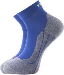 Zwarte FALKE Ergonomic Sport System Falke RU4 short heren hardloopsokken - blauw