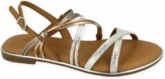 Tamaris Sandaal Dames Touch It All Leather - Zilver | 41