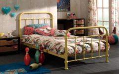Vipack Furniture Vipack Metallbett New York 120x200 cm, gelb