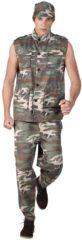 Donkergroene Boland verkleedpak Army Officier heren legergroen maat 50/52