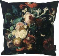 Rode Gek op Kussens! Flower Bouquet #3 Kussenhoes | Katoen / Linnen | 45 x 45 cm | Bloemen