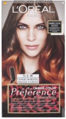 L'Oréal Paris L'Oreal Préférence Haarverf - Ombré Color Mango nr. 7.4 + Haarborstel