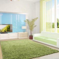 Life Hoogpolig Vloerkleed - Antalya - Rechthoek - Groen - 80 x 250 cm - Vintage, Patchwork, Scandinavisch & meer stijlen vind je op WoonQ.nl