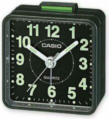 Casio Wekker Zwart met Zwart Wijzerplaat TQ-140-1EF