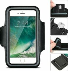 Hardloop Telefoonhouder Armband | Speciaal voor Samsung Galaxy A50 | Zwart